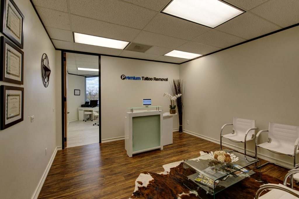 Reception Area Premium Tattoo Removal