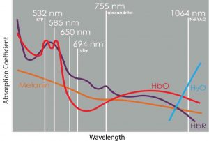 Wavelength Absorption Coefficient