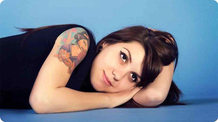 Prepare for laser tattoo removal treatment