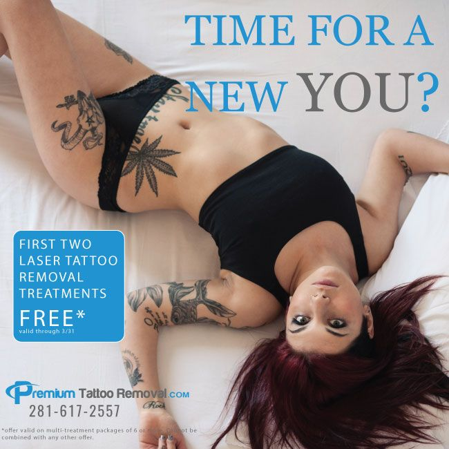 Laser Tattoo Removal Special from Premium Tattoo Removal Clinic in Houston Texas
